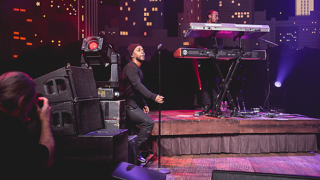 Kendrick Lamar taping for ACLTV - 10/30/2015