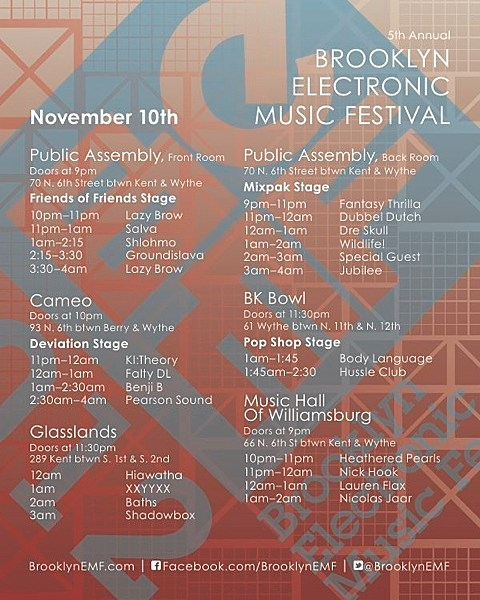Brooklyn Electronic Music Festival day 2