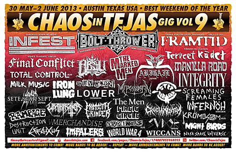 Chaos in Tejas flyer
