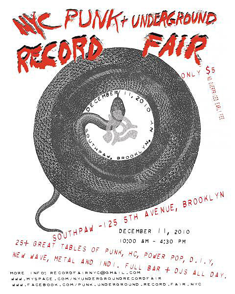 NY Punk Record Fair