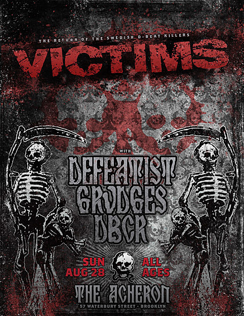 Victims flyer