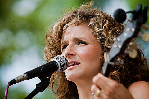 Abigail Washburn with Kai Welch and Bela Fleck
