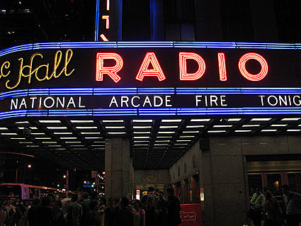 Arcade Fire @ Radio City