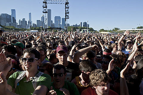 Lollapalooza 2012 - Day 3