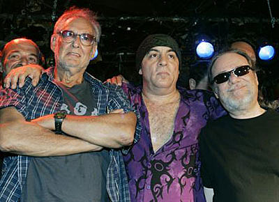 Hilly Kristal, Little Steven, Tommy Ramone