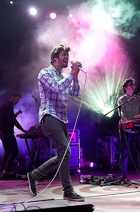 Passion Pit at Fun Fun Fun in 2011