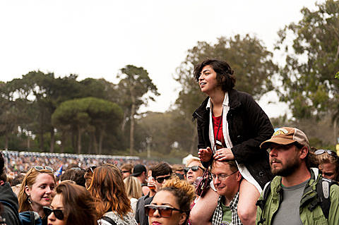 Outside Lands 2012 - Day 2 in Photos