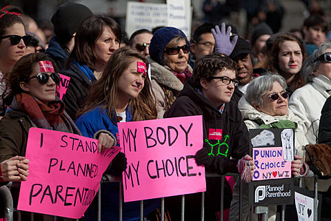 Planned Parenthood Rally - Foley Square