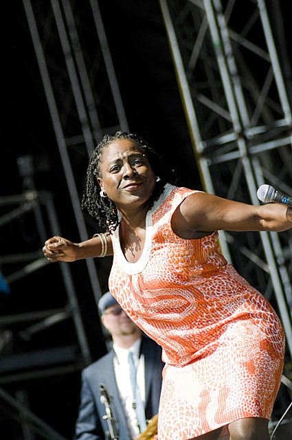 Sharon Jones @ Virgin