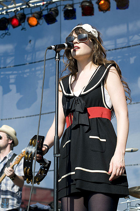 She and Him at Governors Island