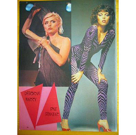 Deborah Harry and Pat Benatar