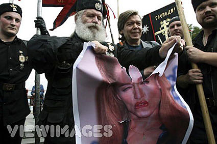 Madonna protest