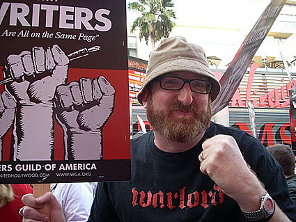Brian Posehn on strike