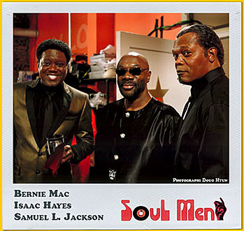 Isaac Hayes and Bernie Mac