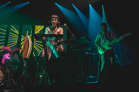 Little Dragon & Octopus Project @ ACL Live  8/31/2014