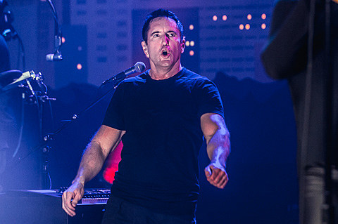 Nine Inch Nails tape for Austin City Limits on 11/4/2013