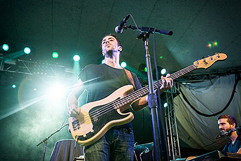 Cold War Kids, Papa @ Stubb's - 8/22/2013