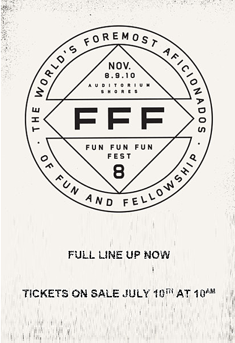 FunFunFun Fest 8 Lineup revealed, tickets on sale...