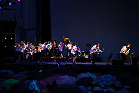 Asphalt Orchestra @ Lincoln Center - 7/27/2013