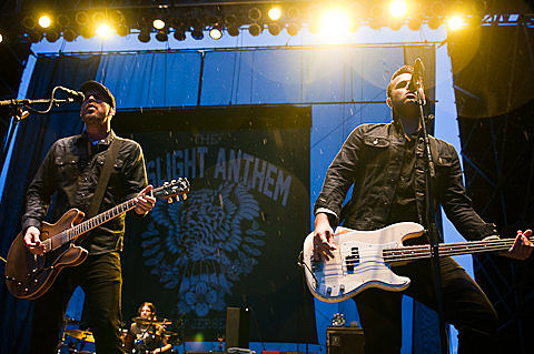 The Gaslight Anthem & The Hold Steady @ Pier 26 - 7/28/2013