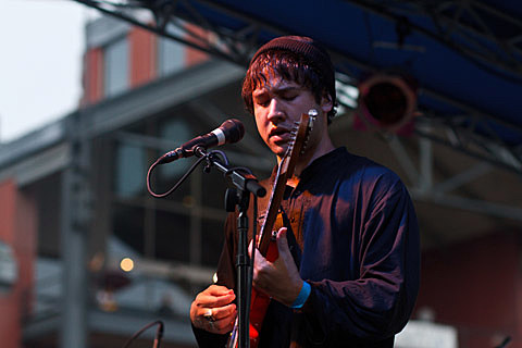 Unknown Mortal Orchestra @ South Street Seaport - 6/28/2013