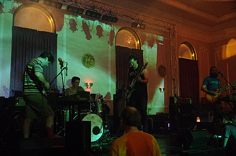 Cave @ Logan Square Auditorium - 6/28/2013