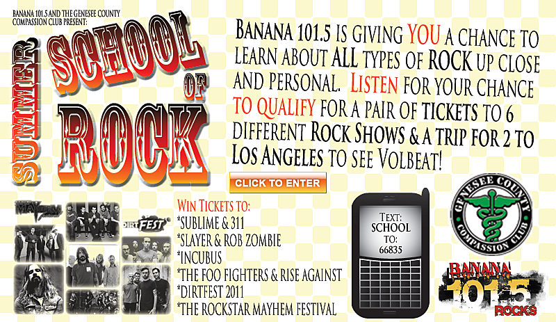 Win A Trip For 2 To L A  With The Summer School Of Rock!!!
