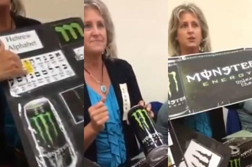 Woman Believes 'Monster' Energy Drink Is Satanic [VIDEO]