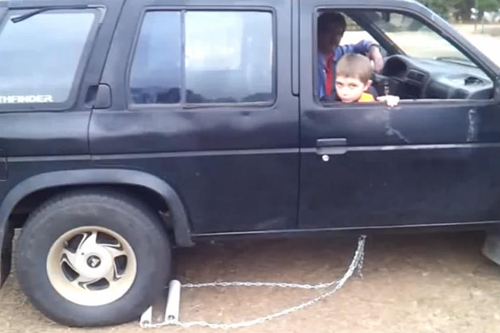 Sweet Redneck Fix To A Truck With No Reverse [VIDEO]