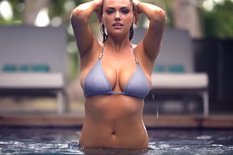 Kate Upton Makes A Sexy Splash In Pool Photo Shoot Video