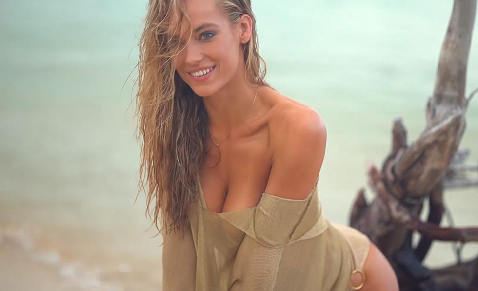 af87bdb9ad Hannah Ferguson — Babe of the Day [VIDEO]