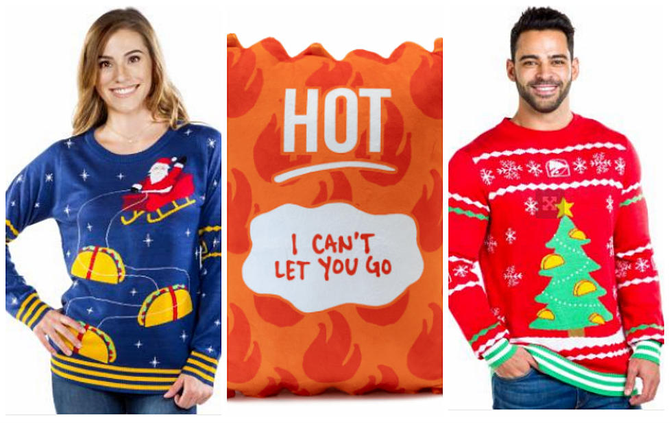 Is Taco Bell Open On Christmas.Heat Up Your Holiday Wardrobe With The Taco Bell Christmas