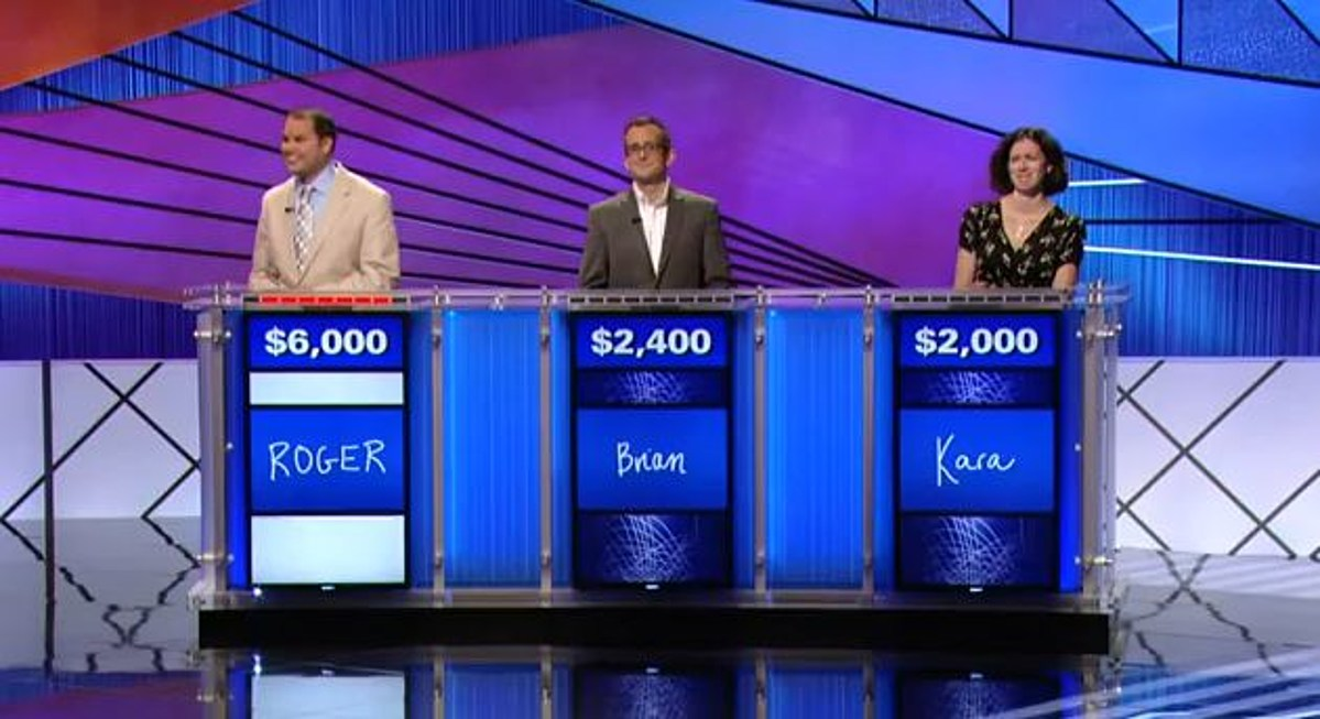 Jeopardy - What Is A Threesome? [Video]