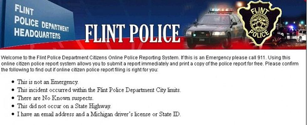 Flint Police Introduce 'Coplogic' As The Latest Way To