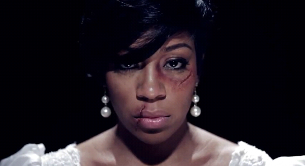 K  Michelle Face Gets Beat Up For 'Saving Our Daughters