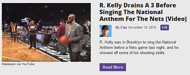 Drunk Guy Makes R  Kelly Sing To Prove He Is Really R  Kelly
