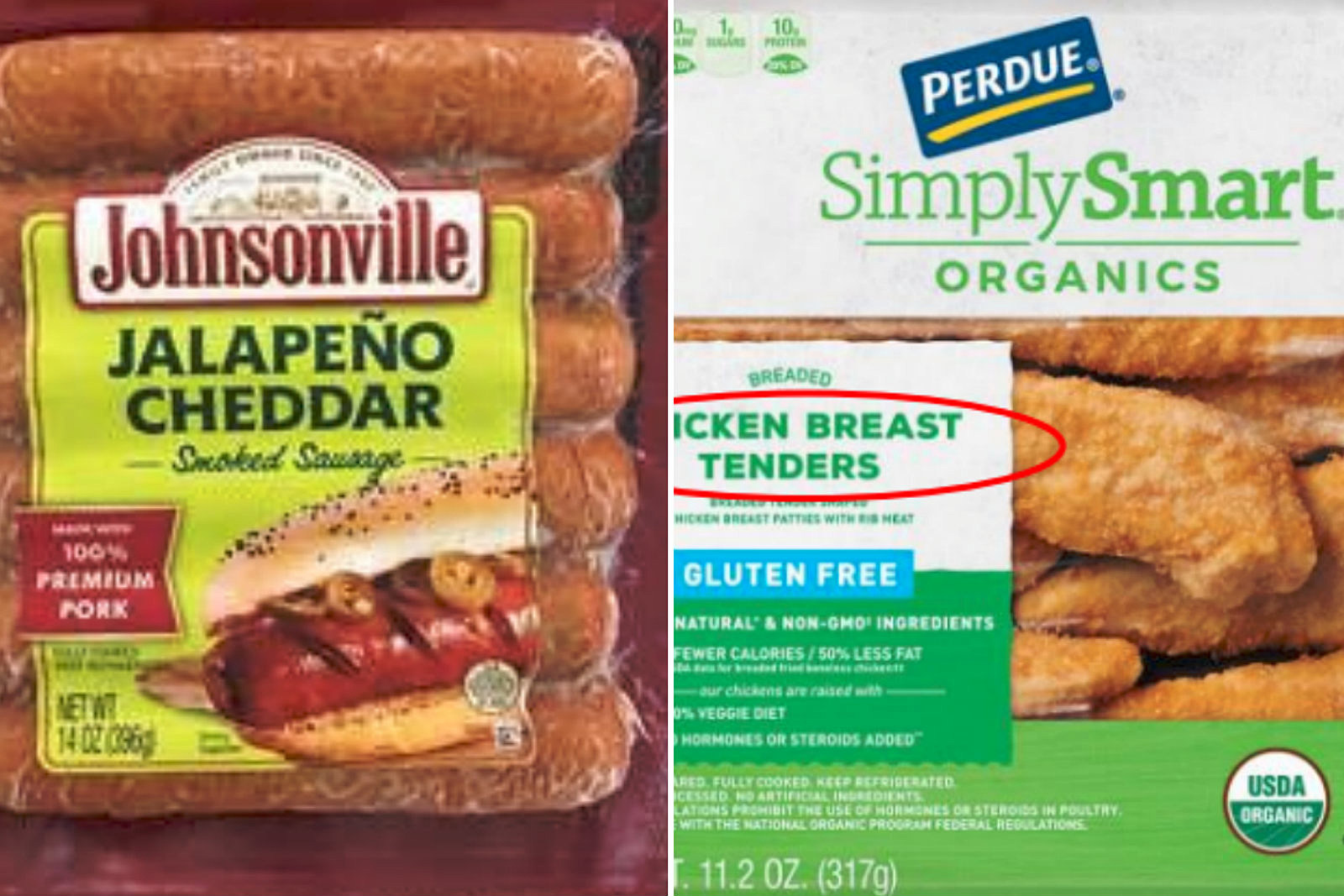 Two Meat Recalls Issued For Sausage and Chicken Products