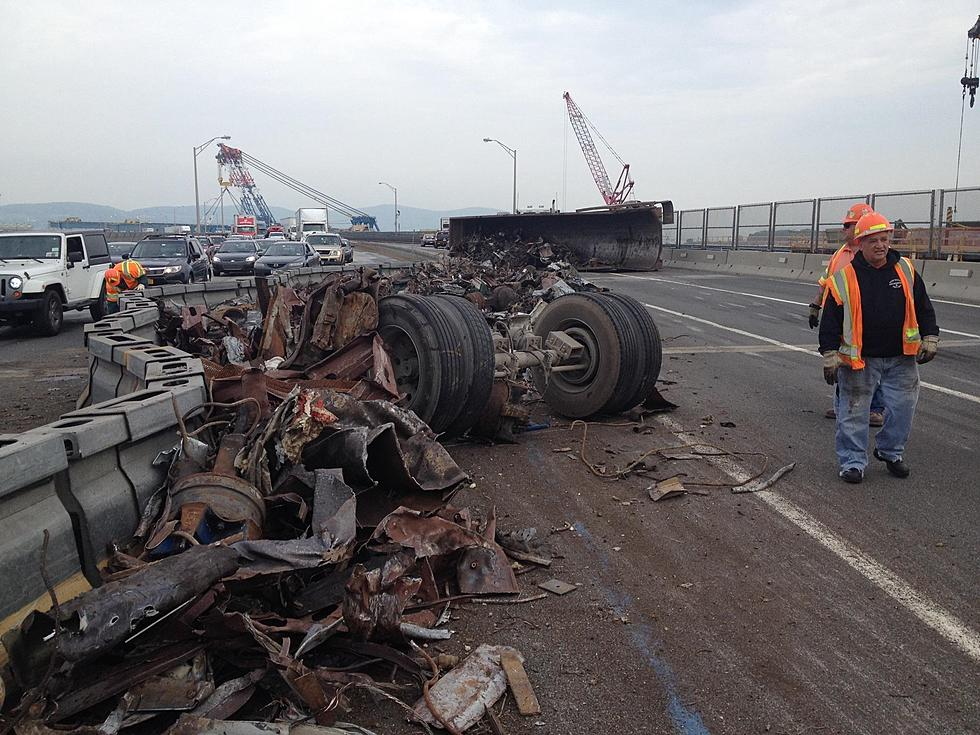 Amazing Dash Cam Video Shows Tappan Zee Bridge Rollover Accident