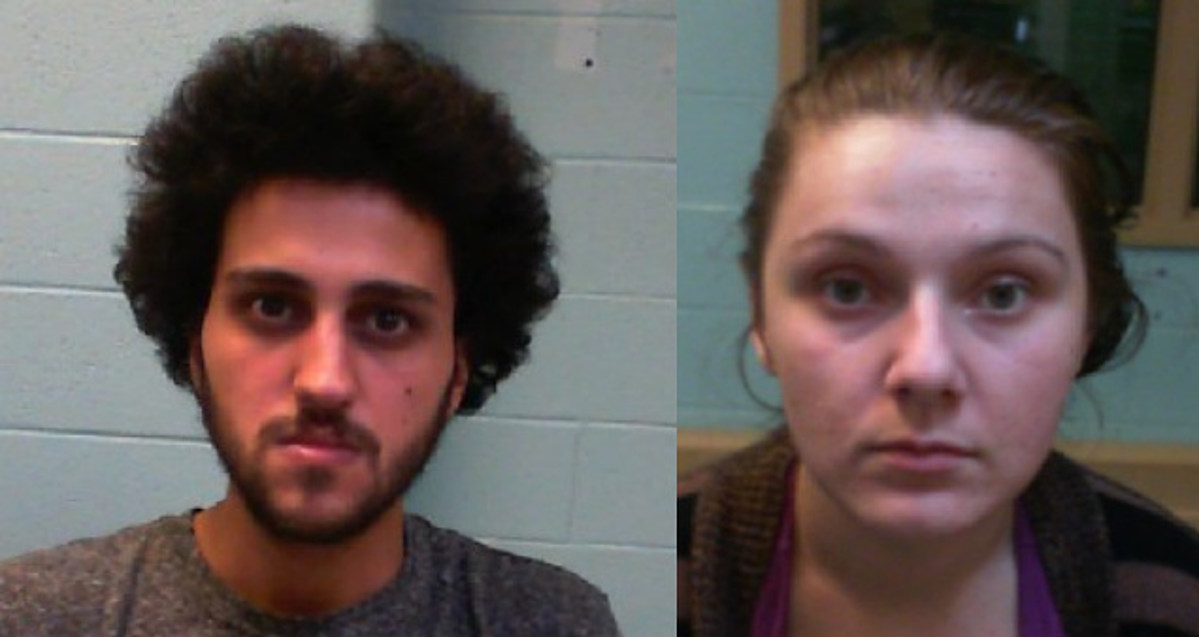 Couple arrested for possession of suspected stolen