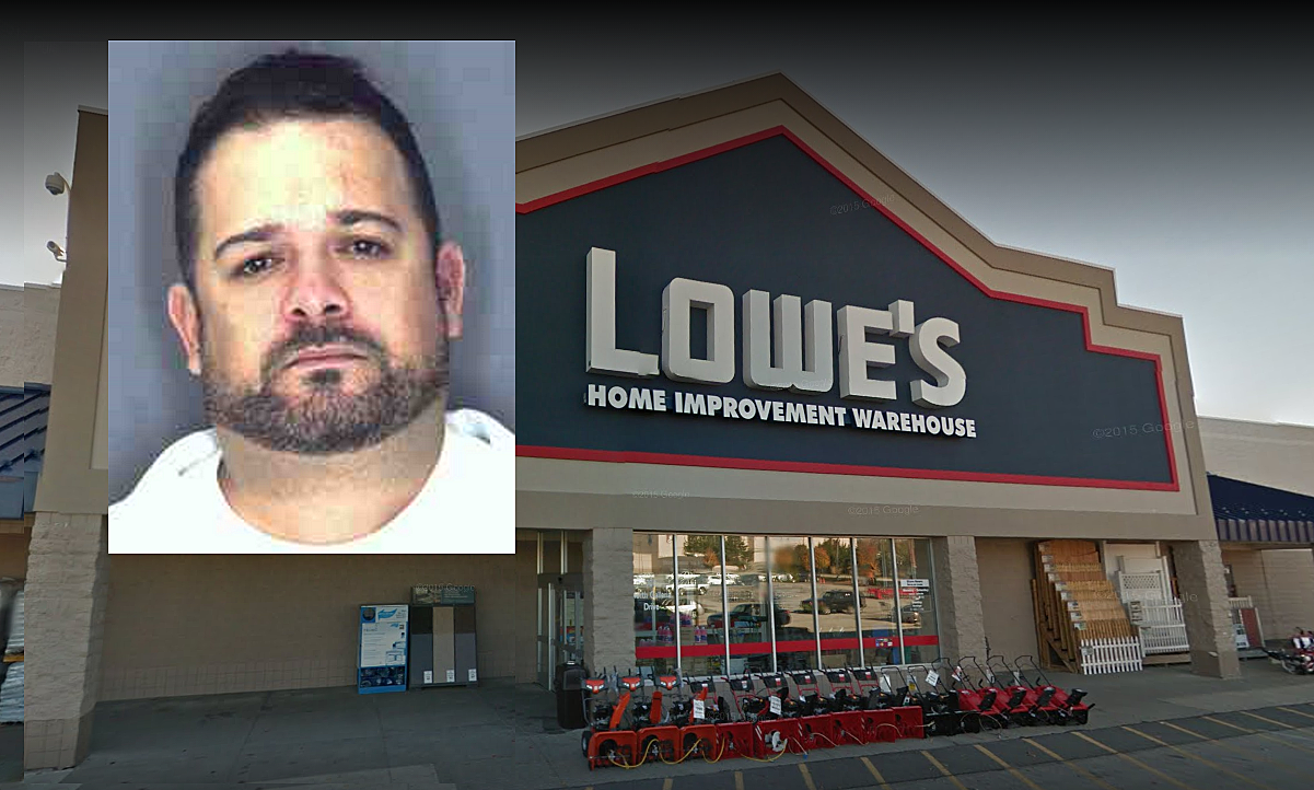 Man Used Stolen Credit Card To Make $1,100 Purchase From Local Lowe's