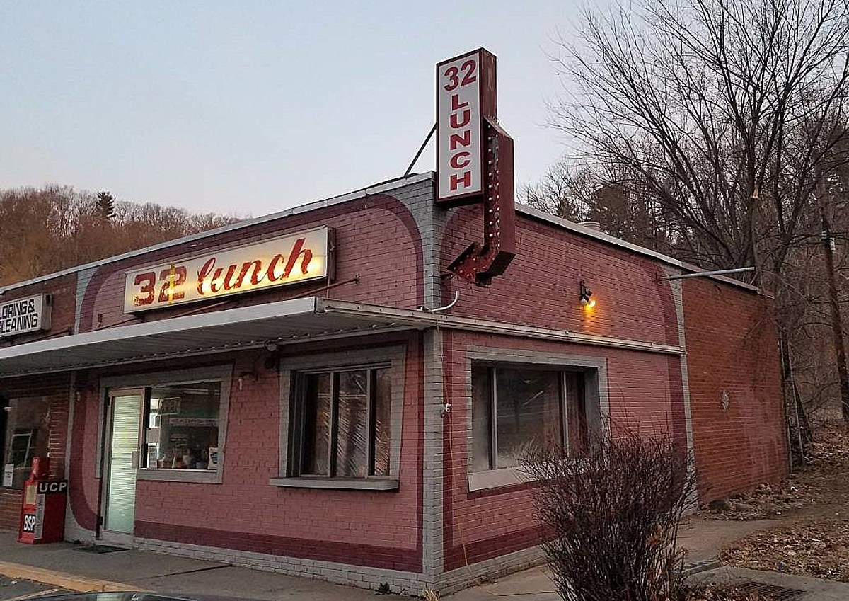 Iconic Hudson Valley Lunch Counter for Sale