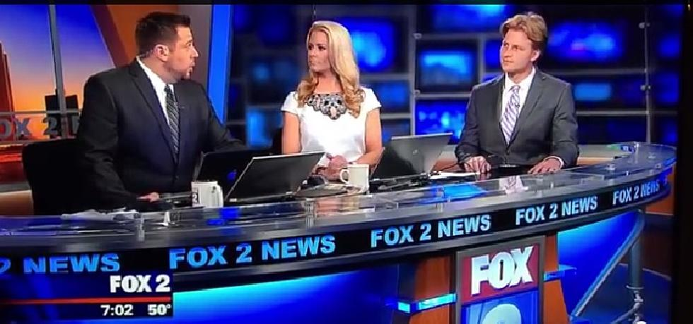 Fox 2 Detroit 'Dry Hump Day' Blooper Goes Viral [VIDEO]