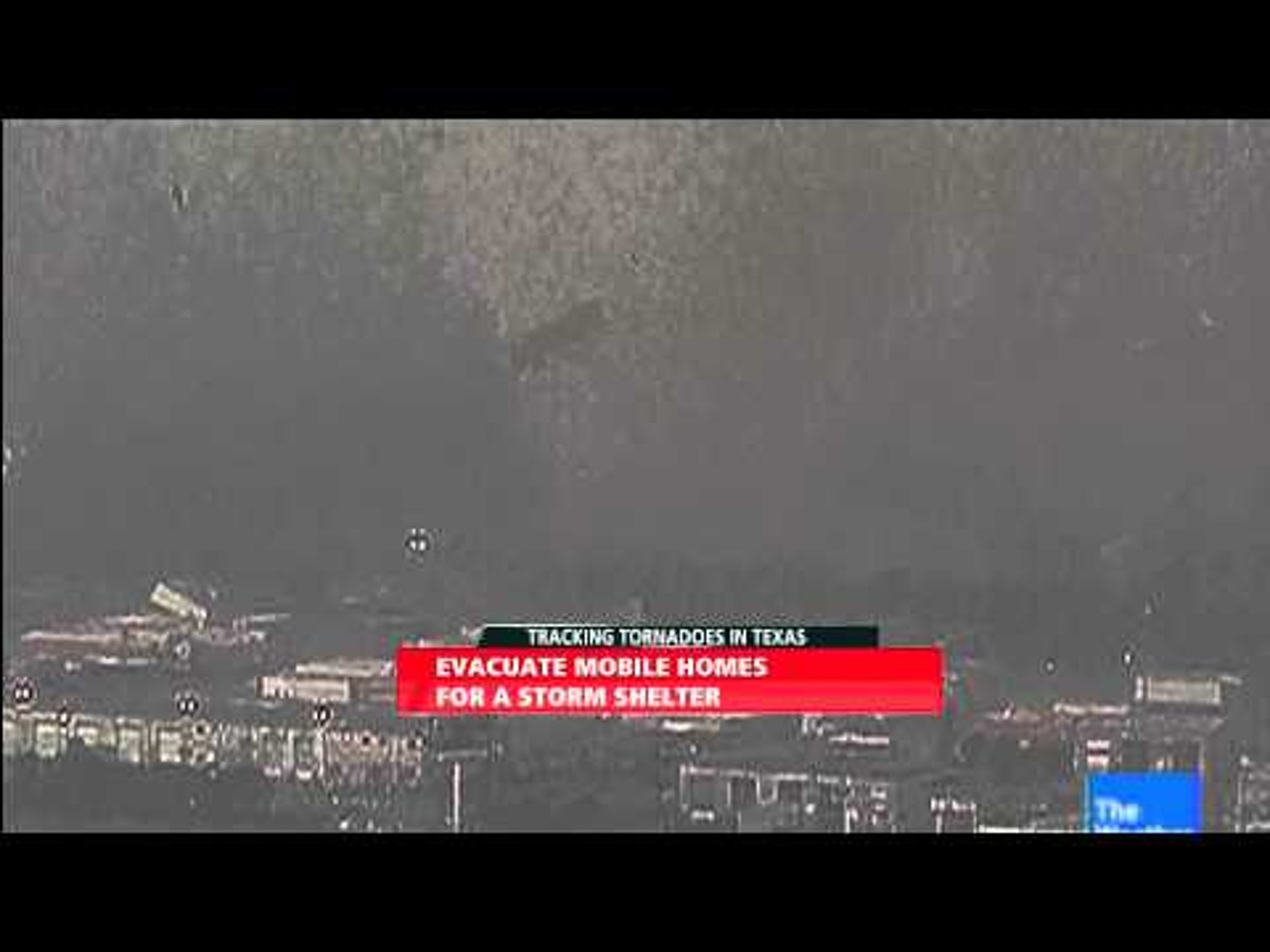 Video: Watch the Moore tornado form