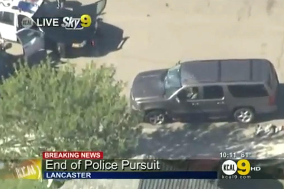 Los Angeles Bank Robbery Chase Ends In Televised Shooting