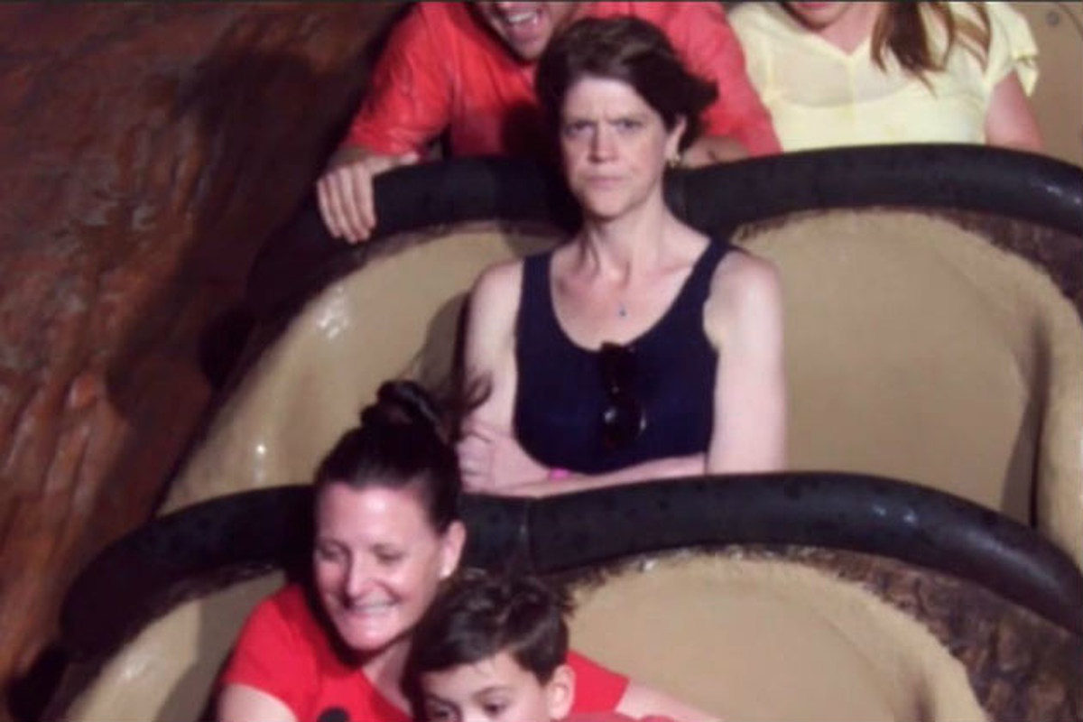 Angry Splash Mountain Lady Has The Last Laugh! - World of