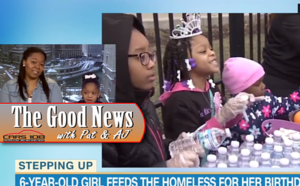6 Year Old Chicago Girl Feeds Homeless On Her Birthday The Good News VIDEO