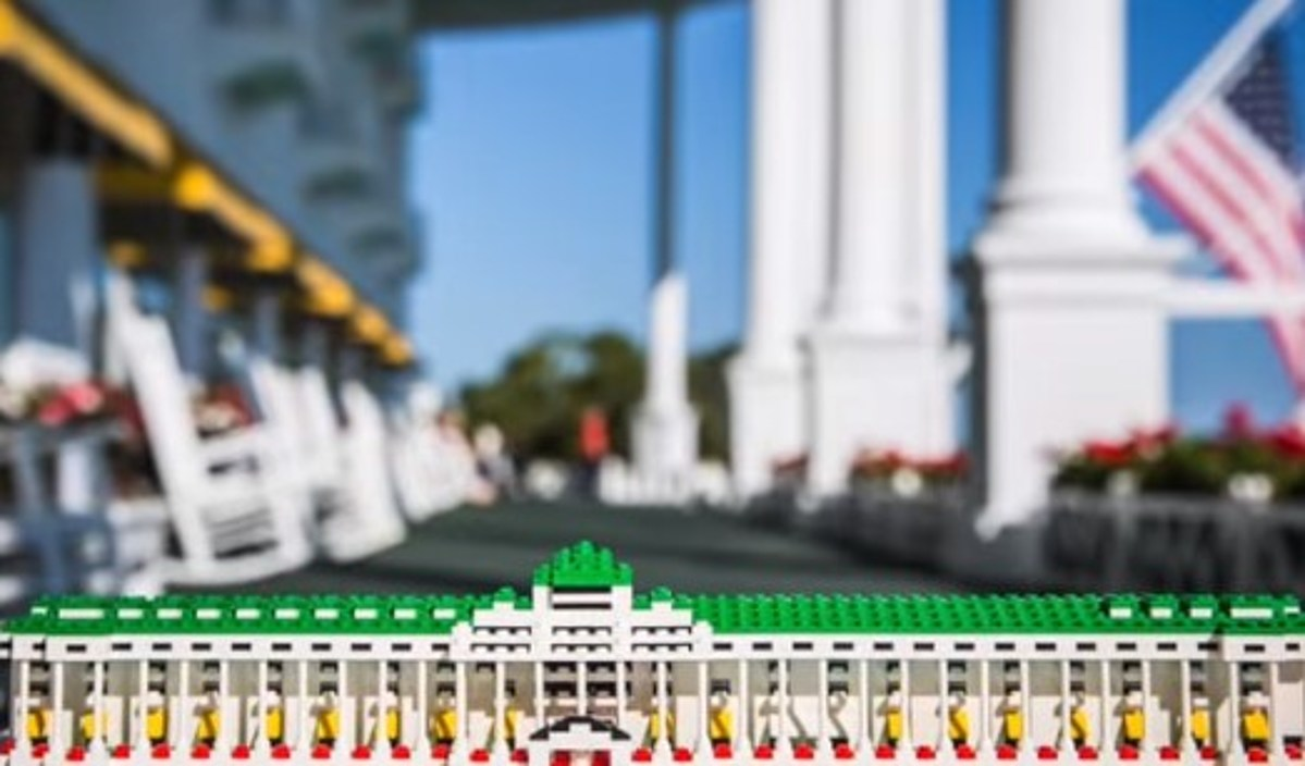 Want A Lego Version Of Mackinac Island S Grand Hotel Vote For It
