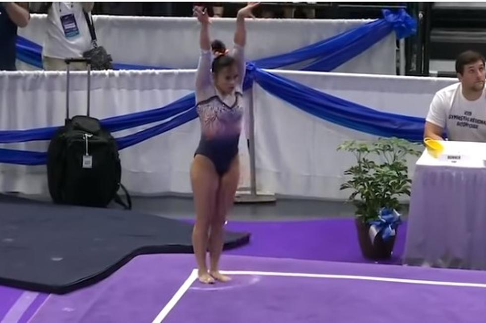 college gymnast breaks both legs