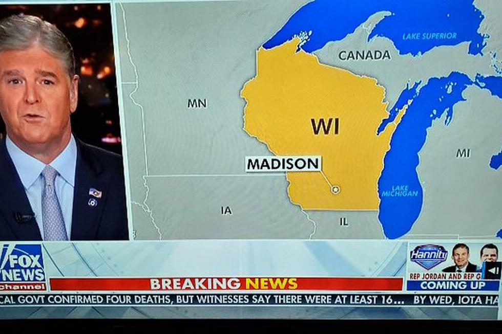 Map Of Upper Peninsula Michigan And Canada Fox News Mislabels the Upper Peninsula as 'Canada'