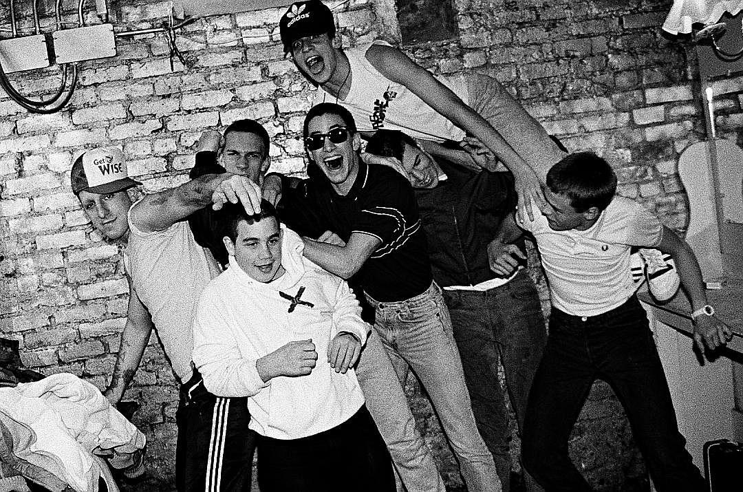 Racist murphys law band The Freakout